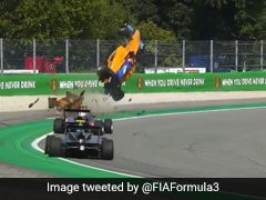 Watch: Formula 3 Driver Incredibly Walks Away From Terrifying Crash At Monza