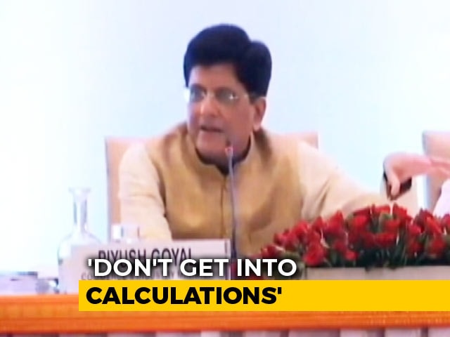 "Video : Piyush Goyal Clarifies As ""Einstein Discovered Gravity"" Remark Goes Viral"