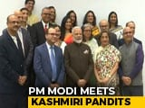 Video : PM Modi Meets Kashmiri Pandits In Houston