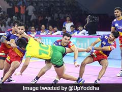 Pro Kabaddi: UP Yoddha Thrash Tamil Tahalivas, Jaipur Pink Panther Play Out Draw With Gujarat Fortunegiants
