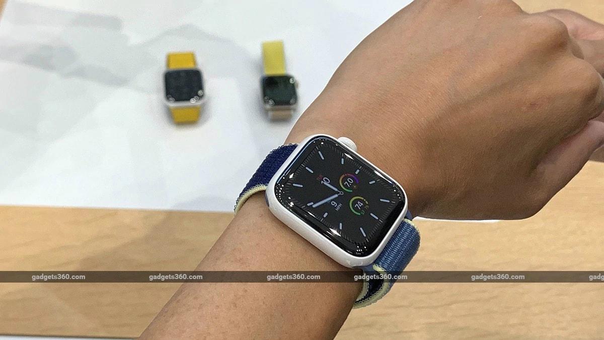 Apple Watch Series 5 लॉन्च, ऑलवेज-ऑन रेटिना डिस्प्ले से है लैस
