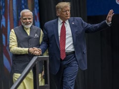 "Preparations For Trump's Visit To India Show ""Slave Mentality"": Shiv Sena"