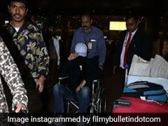 एयरपोर्ट पर व्हीलचेयर में दिखे Irrfan Khan, कैमरा देखते ही यूं छिपाया चेहरा, जानें वजह...