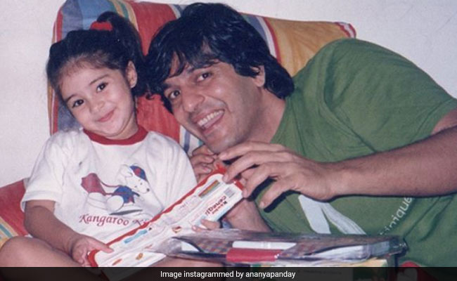 Ananya Panday's Birthday Wish For Dad Chunky Panday Is Too Cute: 'I Love Life This Much All Because Of You'