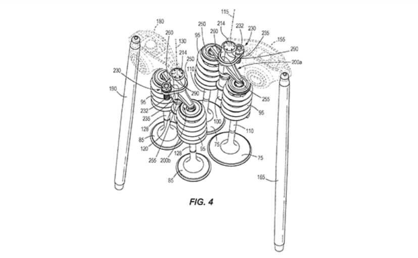 Patent images reveal new Harley-Davidson pushrod engine