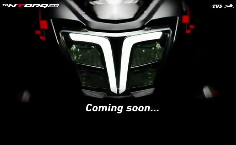 The new video provides a glimpse of the new LED headlamp and DRL on the NTorq.