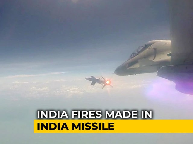 Video : Watch: Air-To-Air Missile Astra Test Fired From Sukhoi Su-30MKI