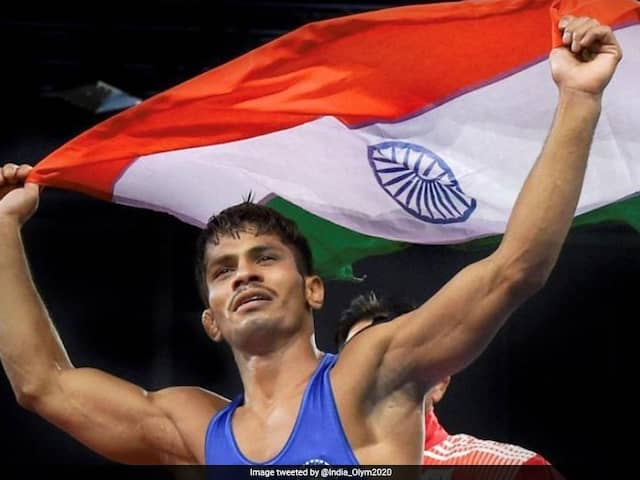 World Wrestling Championships: Rahul Aware Beats Tyler Graff Of USA To Win Bronze In Mens 61kg Category