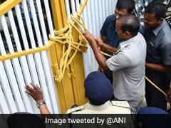 """Atrocious,"" Says Chandrababu Naidu, Under House Arrest; Cops Lock Gates"