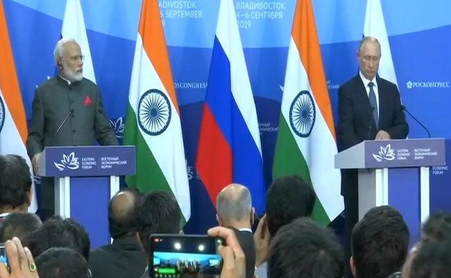 PM मोदी ने रूस के राष्ट्रपति पुतिन के साथ की साझा प्रेस कॉन्फ्रेंस, कहा- दोस्ती का सफर आगे बढ़ा, दर्जनों कारोबारी समझौते हुए