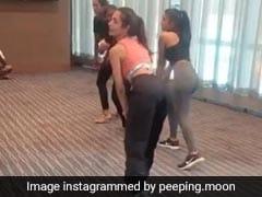 मलाइका अरोड़ा के इस अंदाज की दीवानी हुईं लड़कियां, डांस स्टेप्स को यूं किया फॉलो- देखें Video