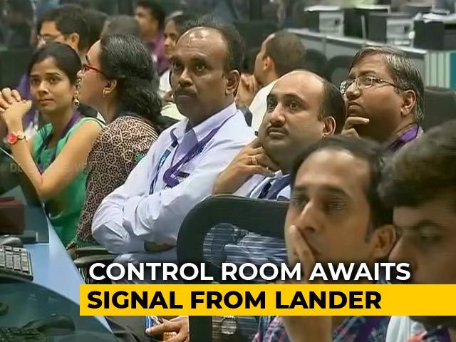 Video : Tense Moments At ISRO As Chandrayaan 2 Attempts Moon Landing