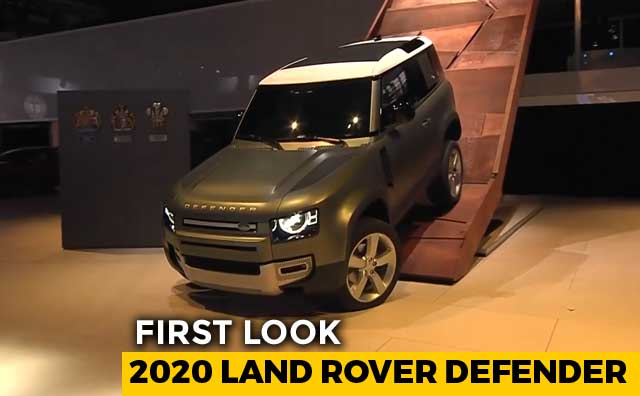 2020 Land Rover Defender First Look