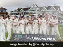 Essex Crowned County Champions For Second Time In Three Years