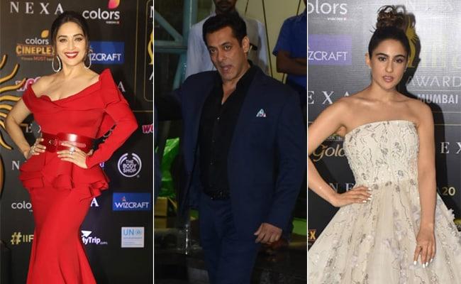 IIFA Awards 2019: Madhuri, Salman, Sara And Others Dazzle On Green Carpet