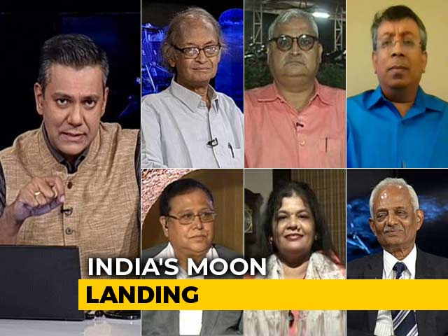 Video : Countdown For India's Flag On The Moon