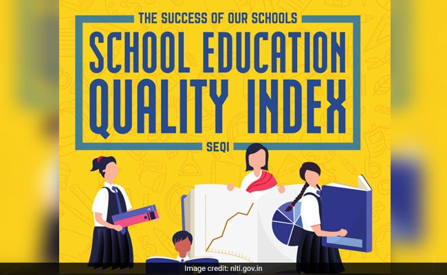 NITI Aayog's School Education Quality Index (SEQI) Released. Kerala Tops