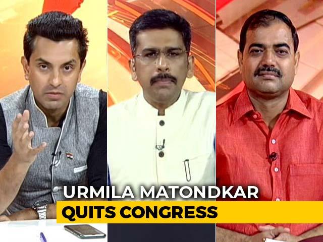 Video : Has Congress Failed Urmila Matondkar Or She Failed Her Political Commitment?