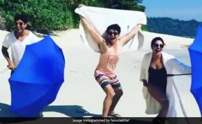 Here's How Priyanka Chopra, Farhan Akhtar And Rohit Saraf Are Prepping For The Toronto Film Festival