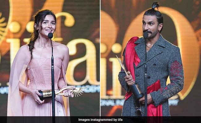 IIFA Awards 2019: Alia Bhatt Wins Best Actress, Ranveer Singh Takes Best Actor Prize