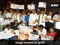 Protests Erupt In Karnataka Over Congress Leader DK Shivakumar's Arrest