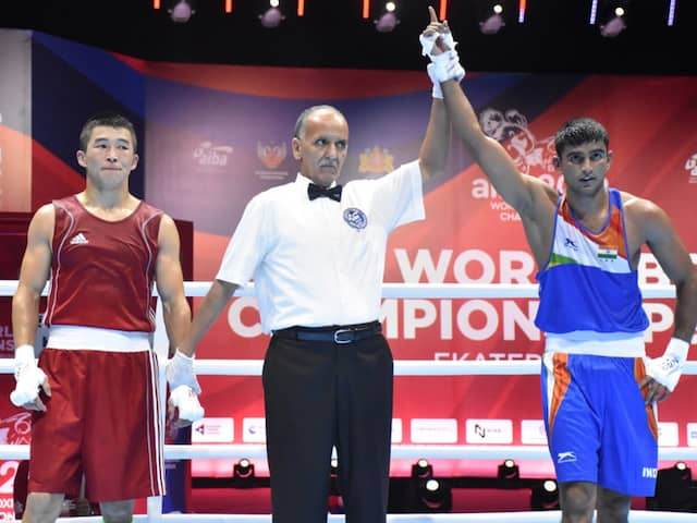 World Boxing Championship: thats how India Manish Kaushik reaches in to second round