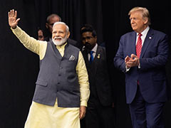 """India Has Never Had Better Friend In A US President Than Me"": Trump"