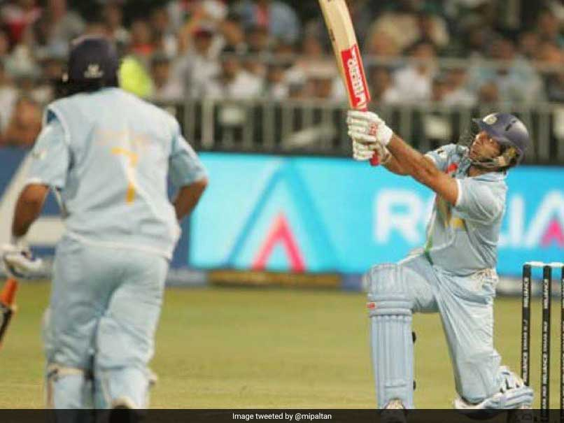 Yuvraj Singh Hit Six Sixes In One Over On This Day To Enter Record Books