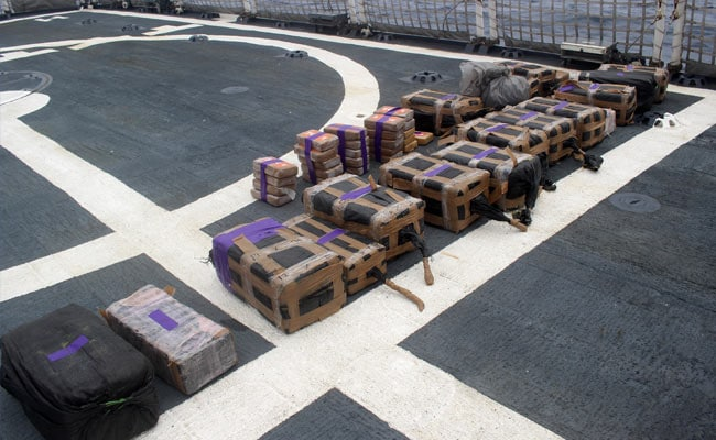 Over 5 Tonnes Of Cocaine Worth $156 Million Seized From US Submarine