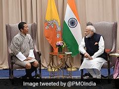 "Narendra Modi Meets Bhutan PM, Discuss ""Strong, Growing"" Relationship"
