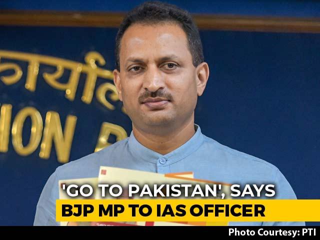 "Video : ""Treason"": Karnataka BJP MP Anant Hegde Hits Out At Bureaucrat Who Quit"
