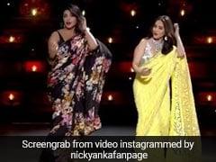माधुरी दीक्षित संग प्रियंका चोपड़ा ने 'डोला रे डोला' पर बांधा ऐसा समां, ऑडियंस हुए क्रेजी-  देखें Video