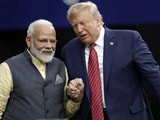 Video : When PM Modi, Trump Walked Hand-In-Hand In A Rock Star-Like Show