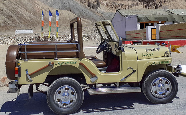 Jeep Captured From Pak In 1971 Stands As 'War Trophy' In Leh Army Camp