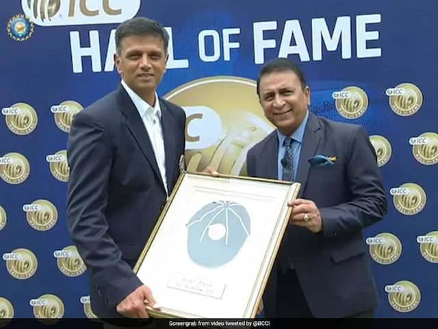 ICC Corrects Mistake After Being Trolled For Rahul Dravid Gaffe
