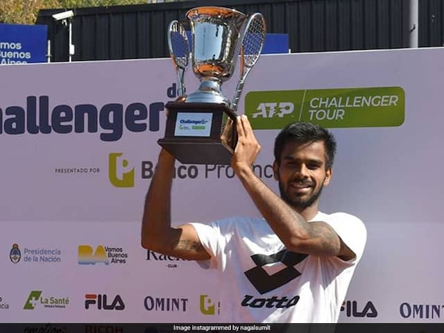 Sumit Nagal Wins Buenos Aires ATP Challenger Tournament, Achieves Career-Best Ranking