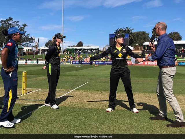 """""""You Think Youve Seen It All"""": Australia Womens Teams Bizarre Move To Use Stand-In Coin Tosser. Watch"""