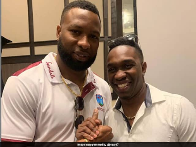 Dwayne Bravos Congratulates Kieron Pollard on becoming West Indies white ball captain