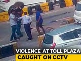 Video : Haryana Toll Booth Staff Collapses As Commuter Smashes Drum On His Head