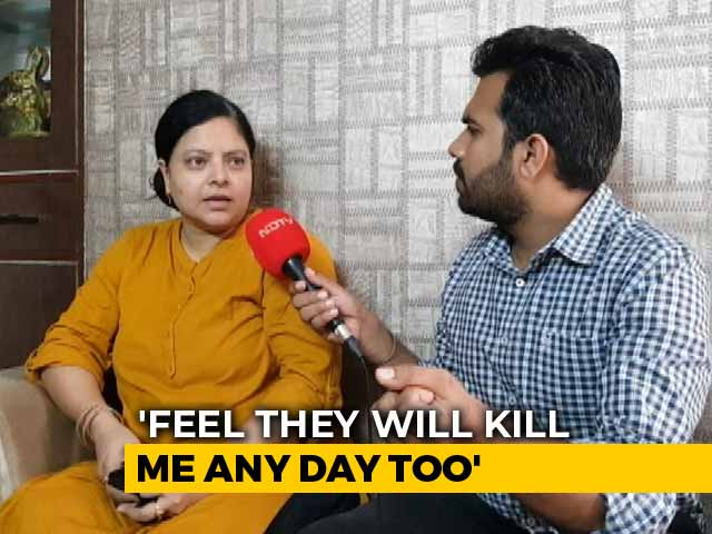 "Video : ""One Of These Days They Will Kill Me,"" Says Murdered UP Cop's Wife"