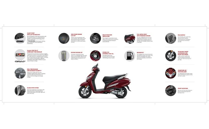 Honda Activa 125 Bs Vi Variants Explained Carandbike