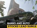 Video : Sensex Clocks Biggest Single-Day Gain In Over A Decade