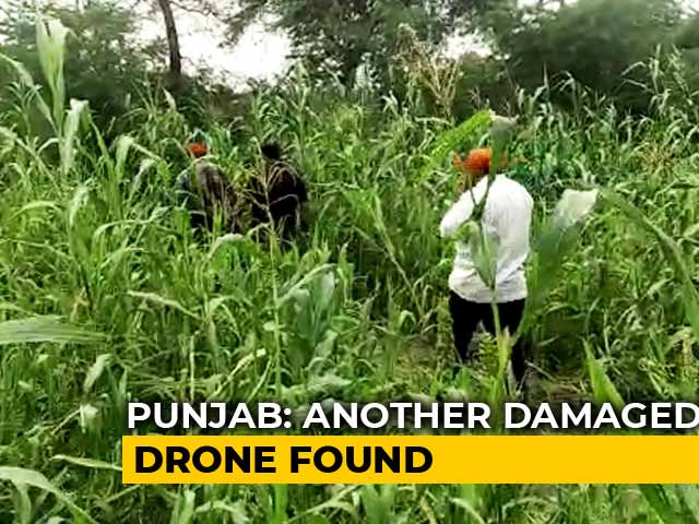 Video : Pakistan Drone Found In Punjab After Terror-Accused Reveals Location