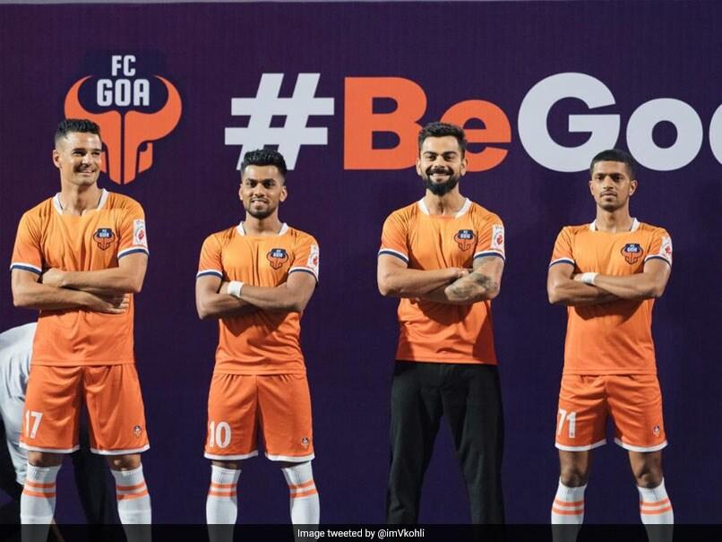 Virat Kohli Flaunts His ISL Team FC Goa