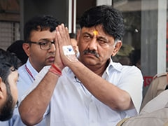 """We Have To Fight Them,"" Sonia Gandhi Tells DK Shivakumar, In Tihar Jail"