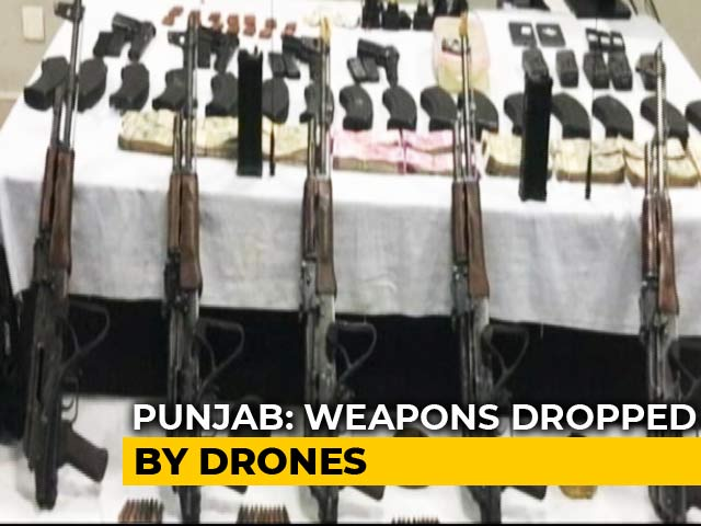 Video : Questions Fly After Weapons-Drop By Pak Drones Across Punjab Border