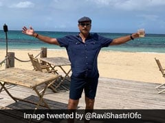 "Coach Ravi Shastris Picture With ""Divine"" Punch Inspires Hilarious Memes On Twitter"
