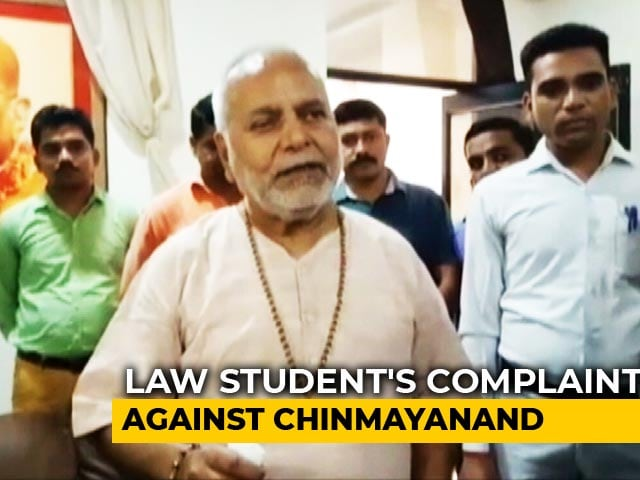 Video : 'Filmed, Blackmailed, Raped': Student's Charge Against BJP's Chinmayanand