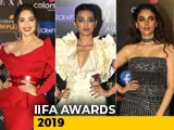 Video : IIFA Awards 2019: Madhuri, Aditi Rao Hydari And Others Dazzle On Green Carpet