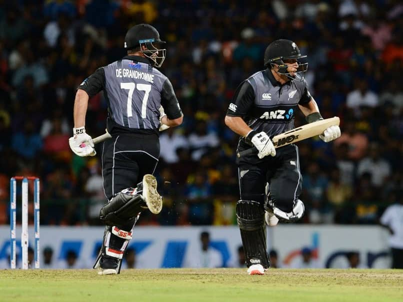 Ross Taylor Fires New Zealand To T20I Win Over Sri Lanka